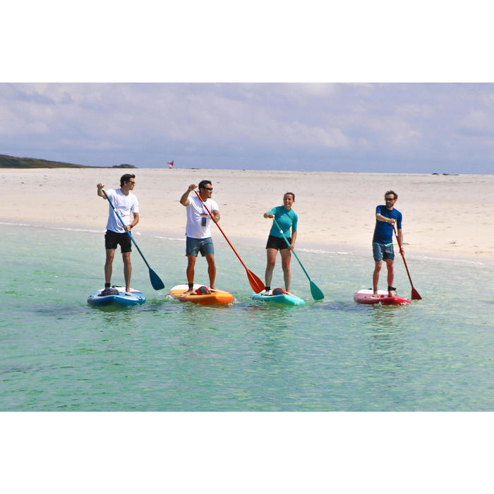 PALA STAND UP PADDLE 100 DESMONTABLE AJUSTABLE 170-220 CM VERDE