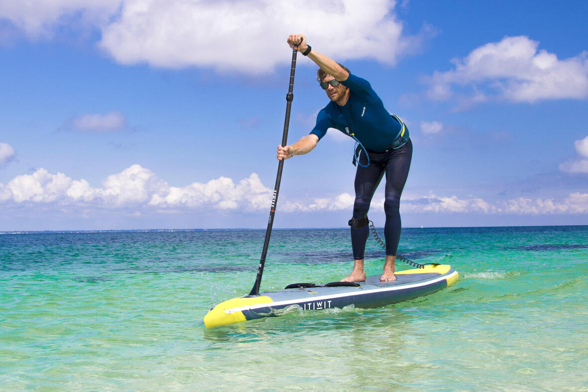 #1 A POWERFUL INFLATABLE STAND UP PADDLE !