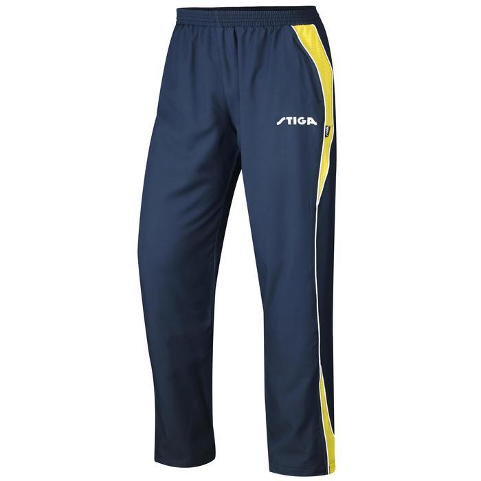 Trainingsbroek voor tafeltennis Stiga Apollo blauw/geel