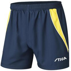 SHORT DE TENNIS DE TABLE STIGA COLUMBIA BLEU/JAUNE