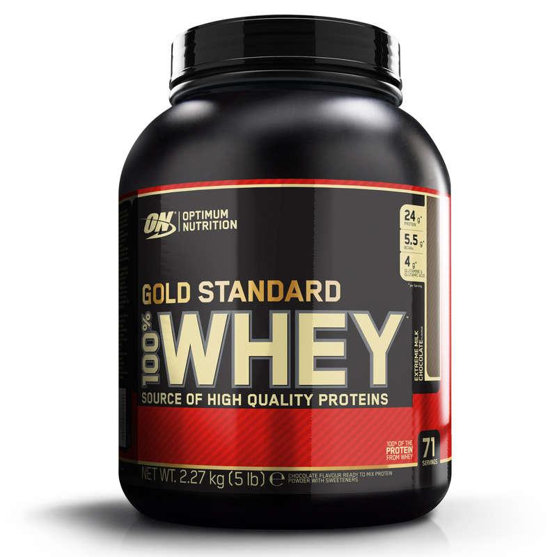 PROTEÍNAS E SUPLEMENTOS ALIMENTARES Cross-Training, Treino Funcional - Whey GOLD Standard Choco 2,2kg OPTIMUM NUTRITION EM - Controlo de Peso