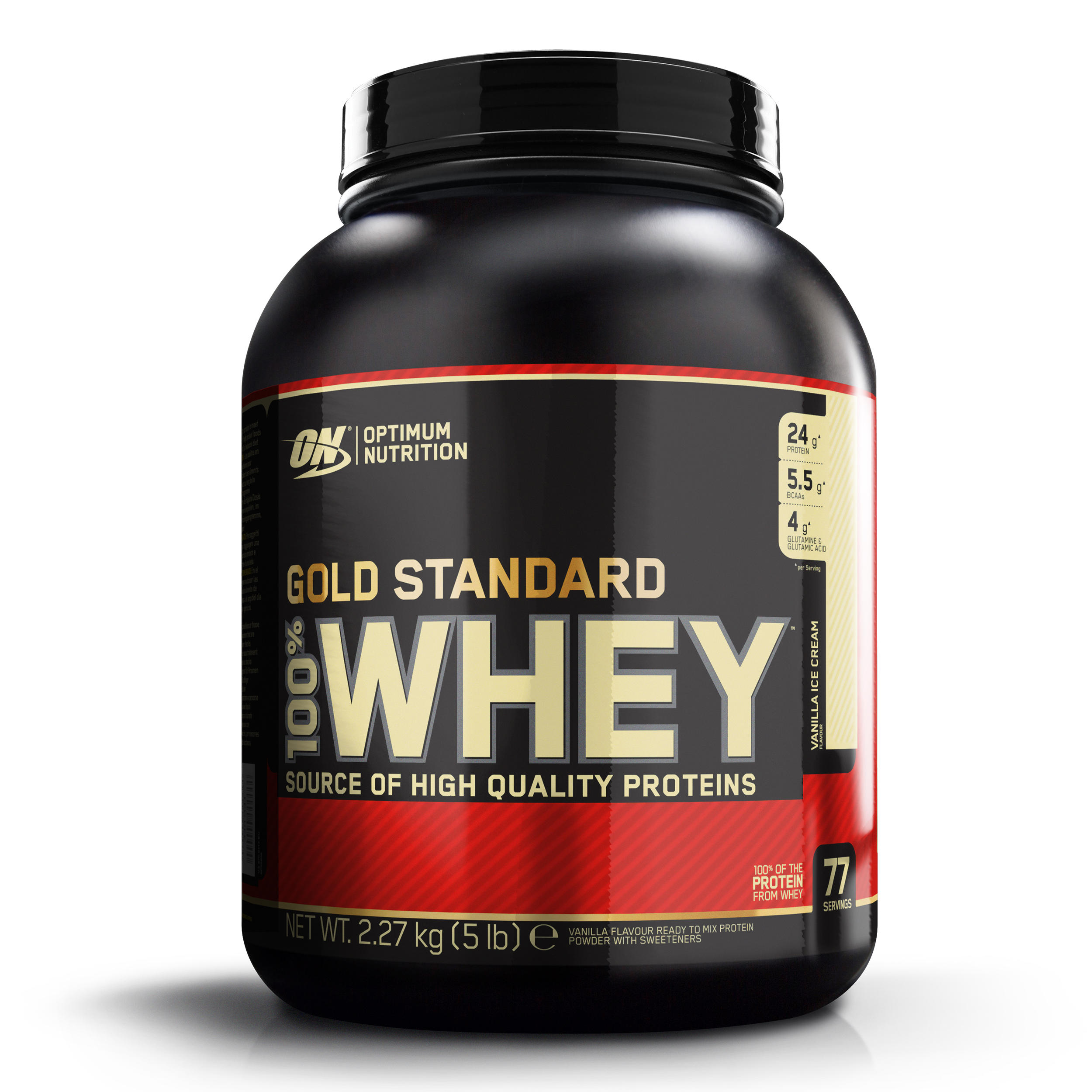 Whey GOLD STD ON Vanilie 2,2kg