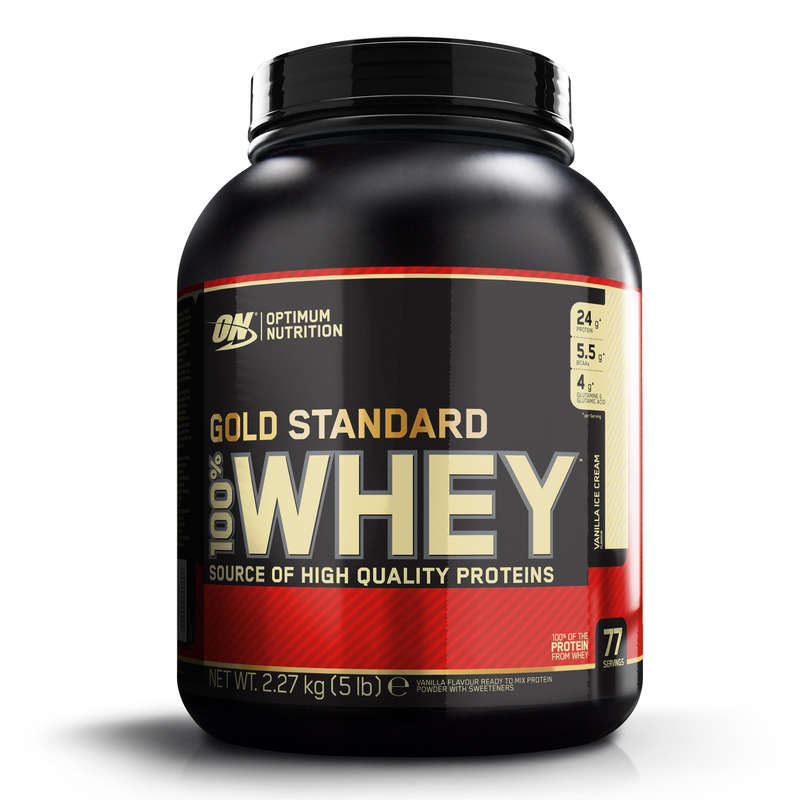 PROTEINS AND SUPPLEMENTS Boxing - Gold Standard Whey - Vanilla OPTIMUM NUTRITION - Nutrition