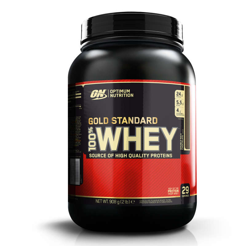 PROTEINS AND SUPPLEMENTS Boxing - Gold Standard Whey Protein Shake, 908g - Chocolate  OPTIMUM NUTRITION - Boxing Nutrition
