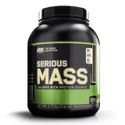 OPTIMUM NUTRITION Mass Gainer Serious Mass 2,7 kg Schokolade