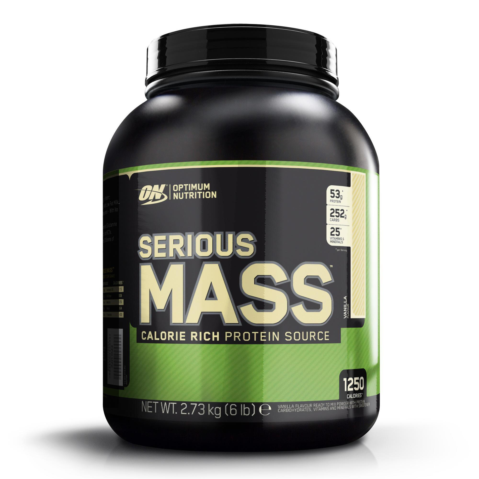 Optimum nutrition em Serious Mass vanille 2,7 kg