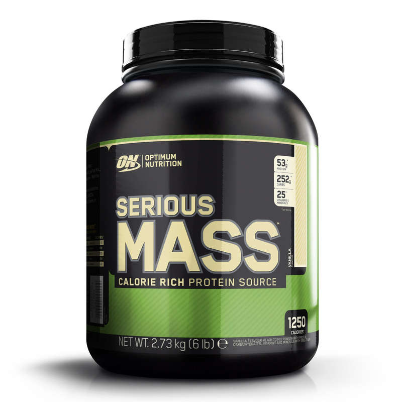 PROTEINS AND SUPPLEMENTS Boxing - Optimum Nutrition Optimum Serious Mass 2.7Kg - Vanilla OPTIMUM NUTRITION EM - Boxing Nutrition