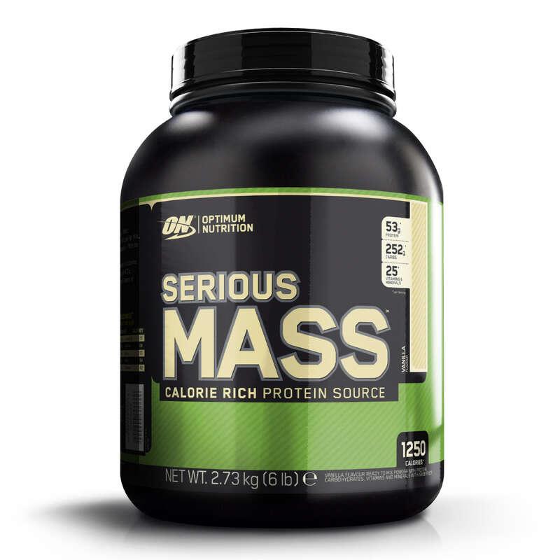 PROTEIN & KOSTTILLSKOTT Kost och Hälsa - SERIOUS MASS vanilj 2,7 kg ON OPTIMUM NUTRITION EM - Proteinpulver