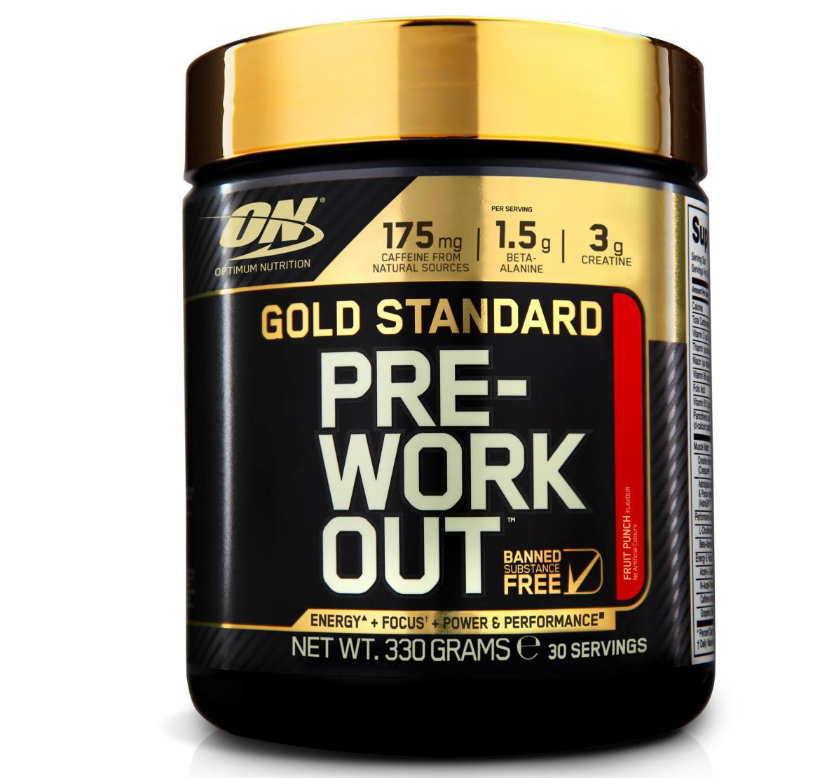 pré workout optimum nutrition