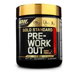 PRE WORKOUT GOLD STANDARD fruit punch 330gr