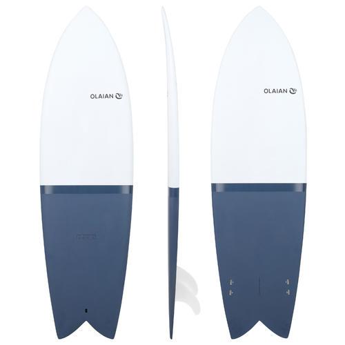 Planche de surf rigide Retrofish 6' 900 . Livrée avec 2 ailerons .