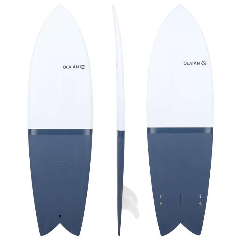 Pranchas Surf nível experiente Surf - SURF 900 Retrofish 6' 35L OLAIAN - Pranchas de Surf e Acessórios