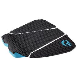3 part Pad 500 black for rear foot for surfboard