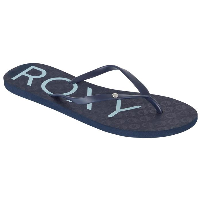 Damesslippers Sandy Roxy blauw