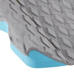 Pad 500 3 parties gris pour pied arrière pour planche de surf