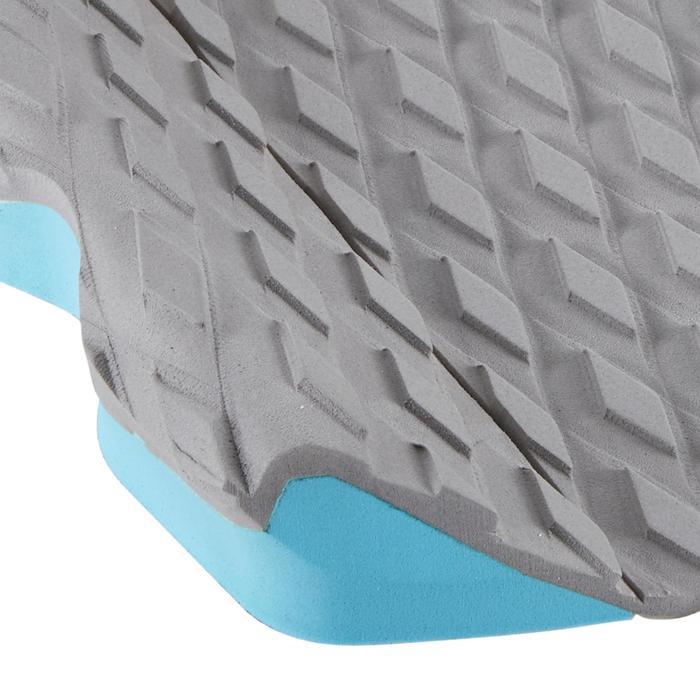Surfpad 500 3 delen grijs voor achterste voet surfboard