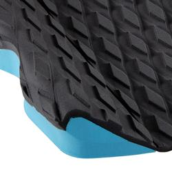 3片式衝浪板後腳防滑墊-黑色