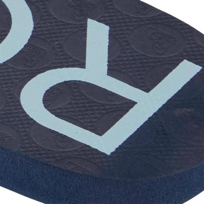 Damesslippers Sandy Roxy blauw
