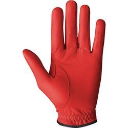 Golfhandschoen 500 voor heren, gevorderde en ervaren spelers, rechtshandig rood