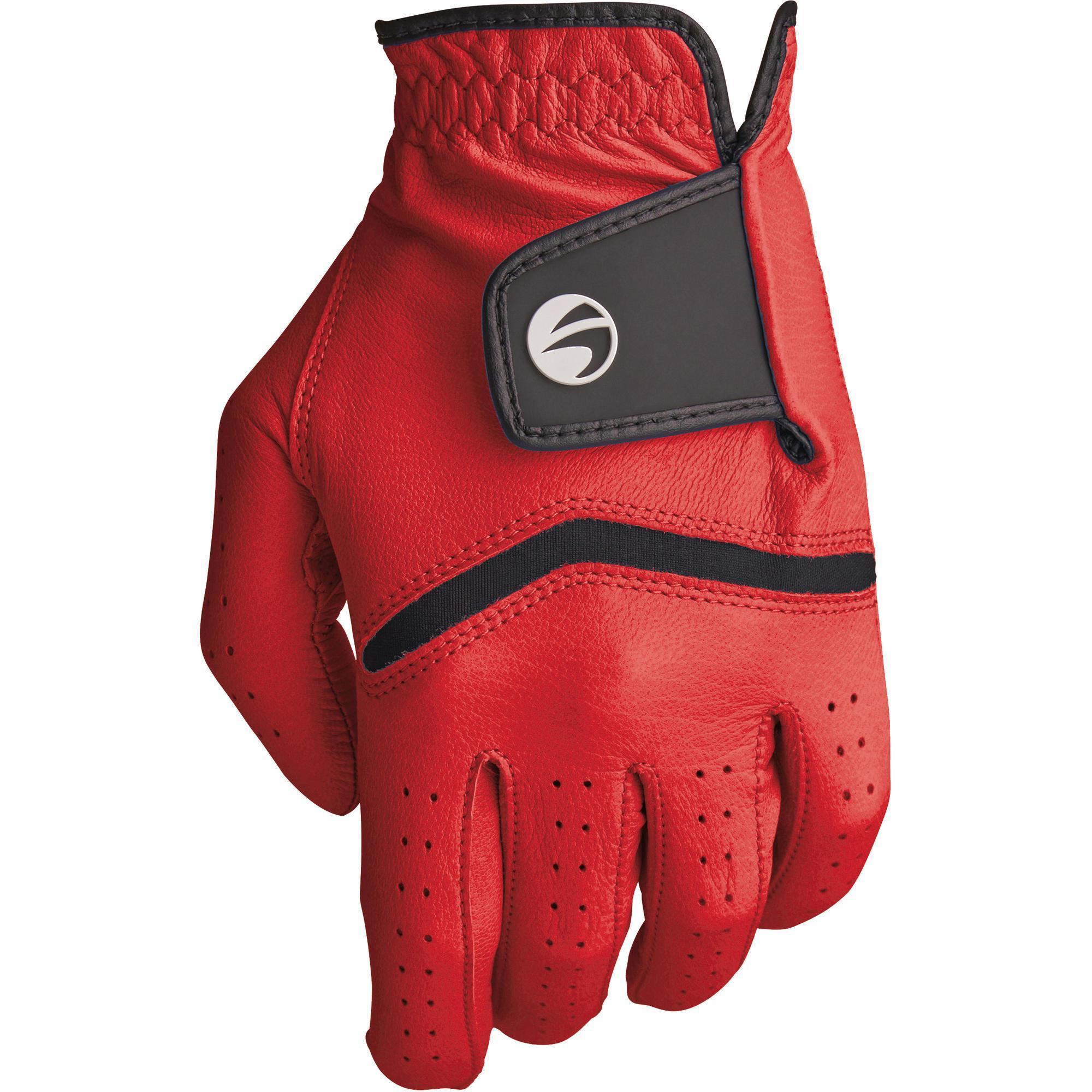 Inesis Golfhandschoen 500 voor heren, gevorderde en ervaren spelers, rechtshandig rood kopen
