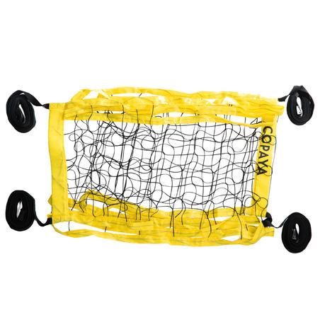 Beach Volleyball Net BV100 Wiz Net - Yellow