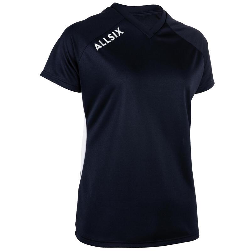 V100 Women's Volleyball Jersey - Navy Blue