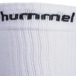 Chaussettes de handball adulte blanc / noir