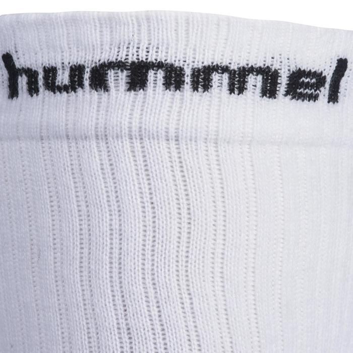 Handballsocken Erwachsene weiß/schwarz
