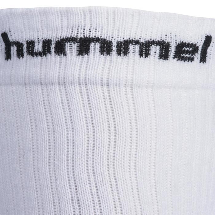 Handbalsokken volwassenen wit / zwart