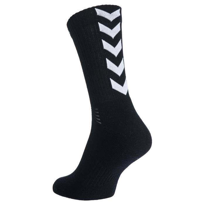 Chaussettes de handball adulte noir / blanc