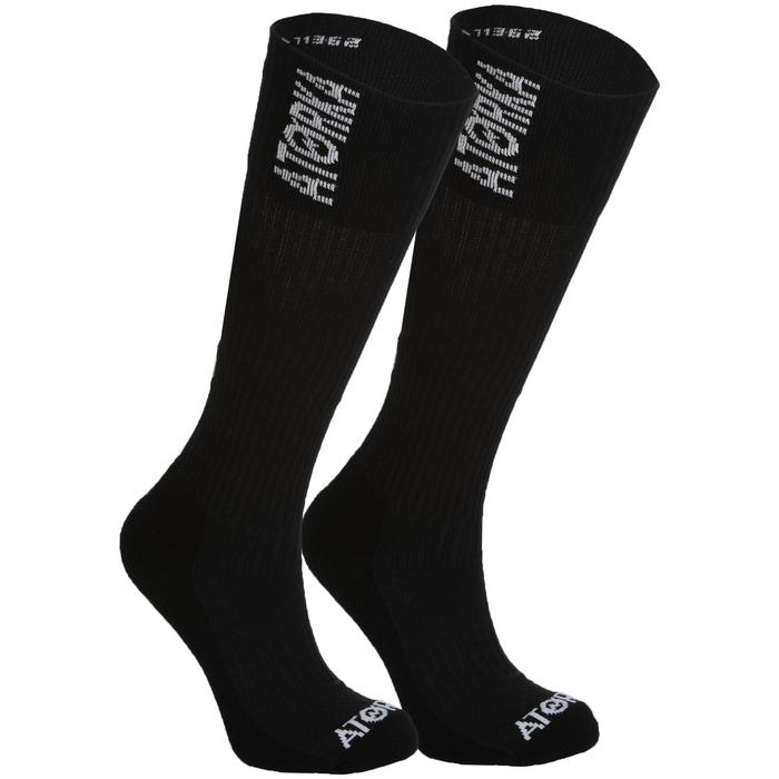 Chaussettes de handball high adulte H500 noir