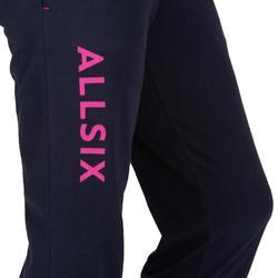 Pantalón largo de Voleibol Allsix V100 mujer azul marino