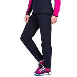 Joggingbroek V100 dames marineblauw