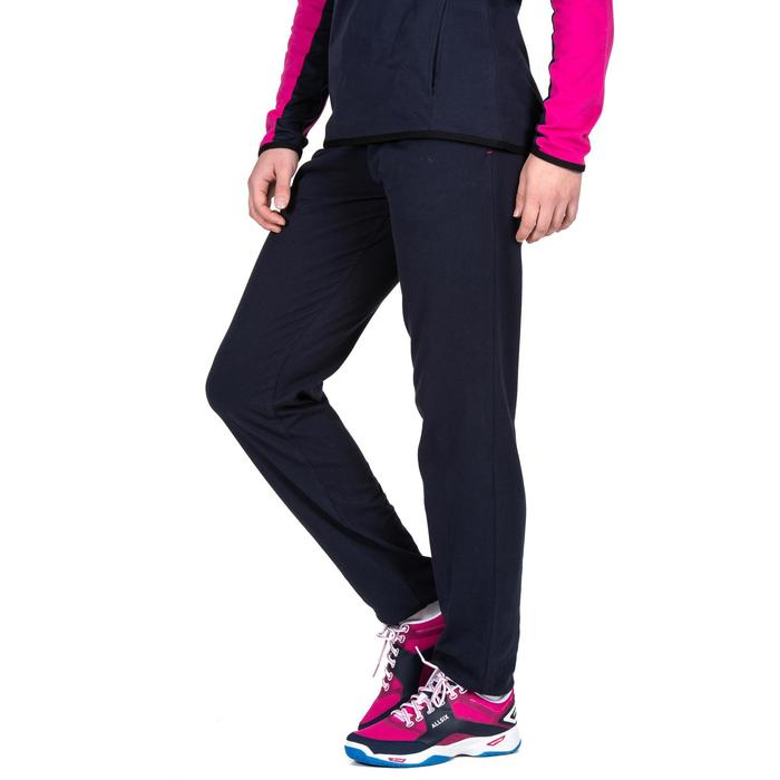 Joggingbroek V100 dames marineblauw