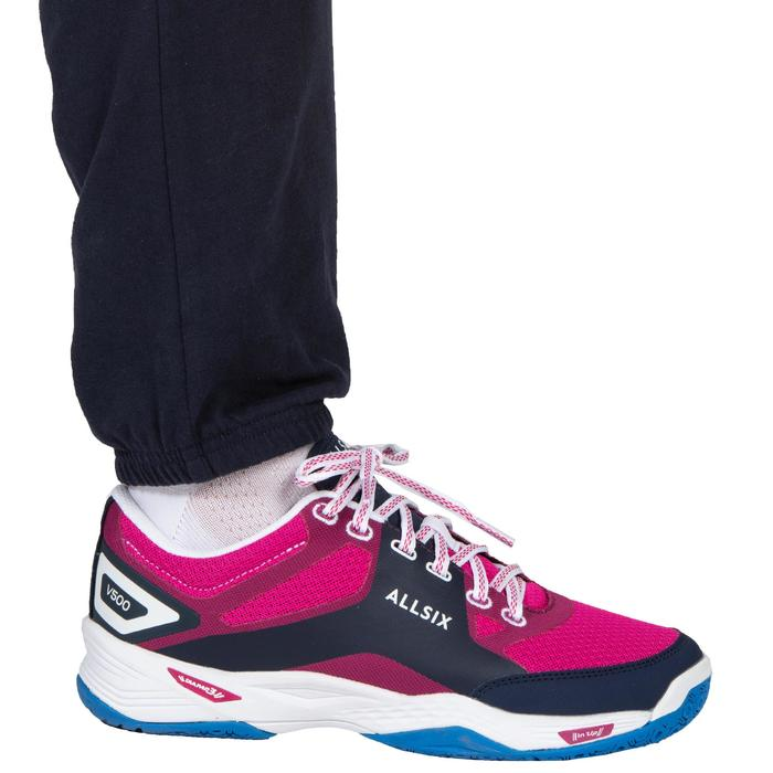 Pantalon de volley-ball V100 Femme bleu marine