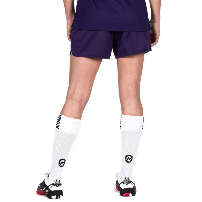 Calcetines largos de balonmano adulto H500 blanco