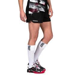 Handballschuhe H500 rosa/schwarz/weiß