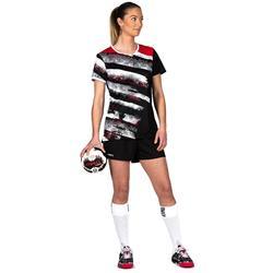 Handballtrikot H500 Damen schwarz/weiß