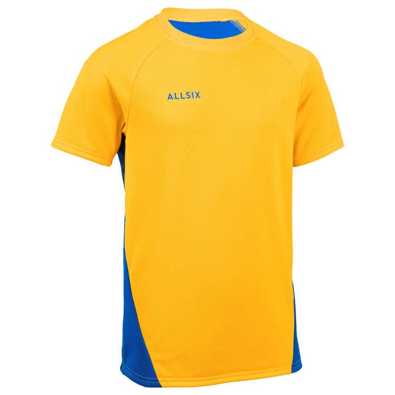 ABBIGLIAMENTO PALLAVOLO Sport di squadra - Maglia pallavolo bambino V100 ALLSIX - Abbigliamento, calze Pallavolo