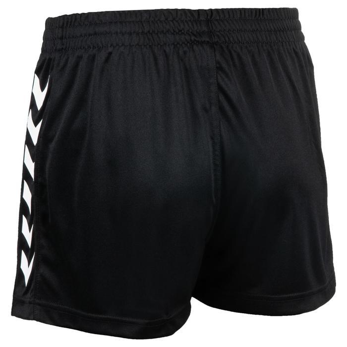 Handbalshort voor dames Core zwart wit