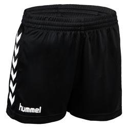 Handbalshort dames Core zwart wit