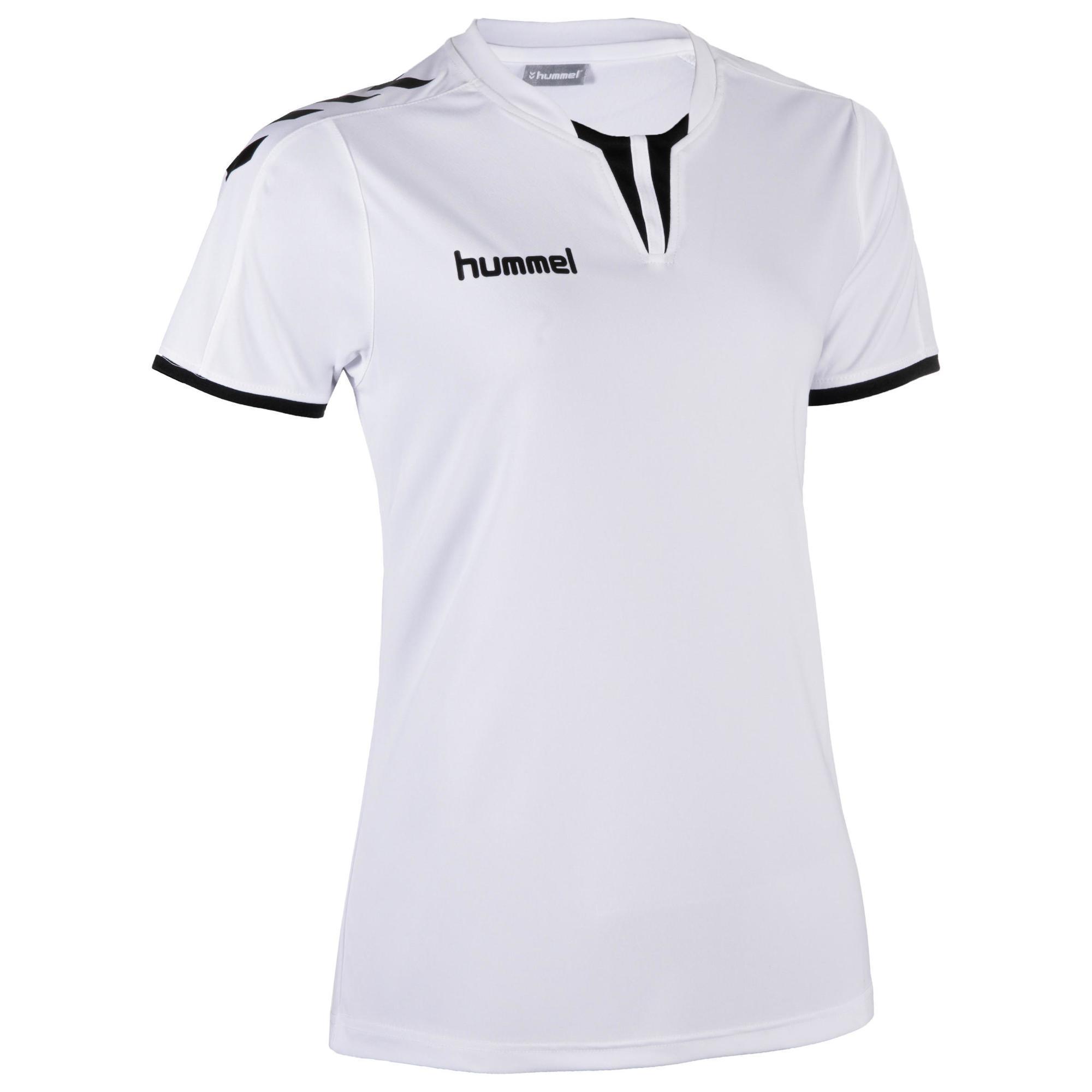 Handballtrikot Core Damen weiß/schwarz | Sportbekleidung > Trikots > Handballtrikots | Hummel