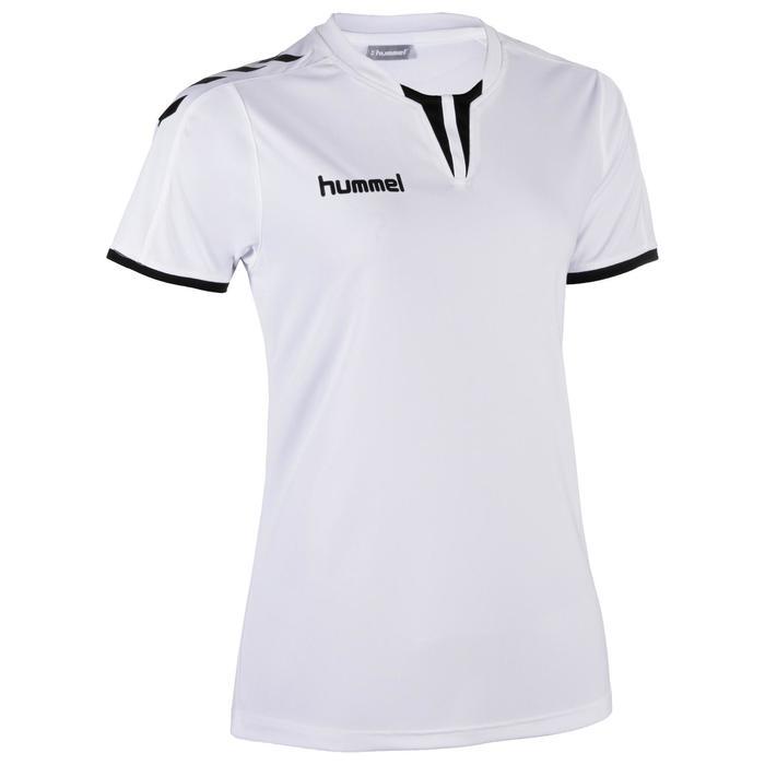 Maillot de handball femme core blanc / noir