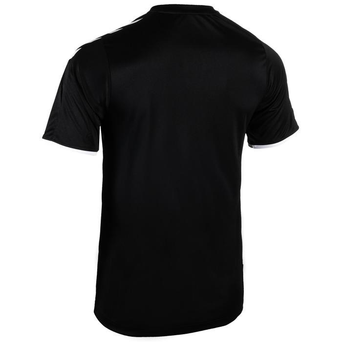 Handbalshirt heren core zwart / wit