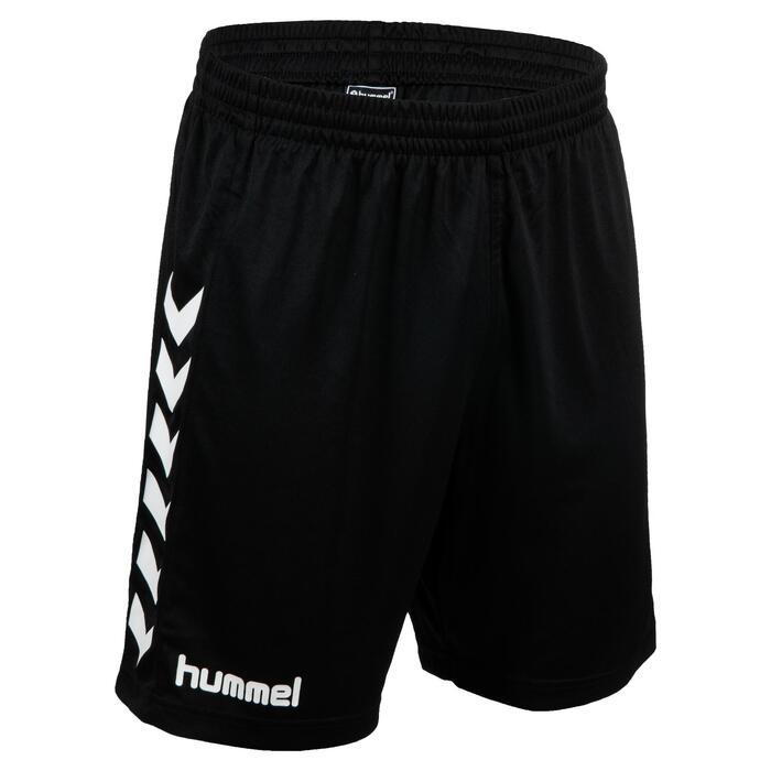 Handbalshort voor heren core zwart / wit