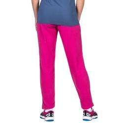 Pantalón largo de Voleibol Allsix V100 mujer rosa