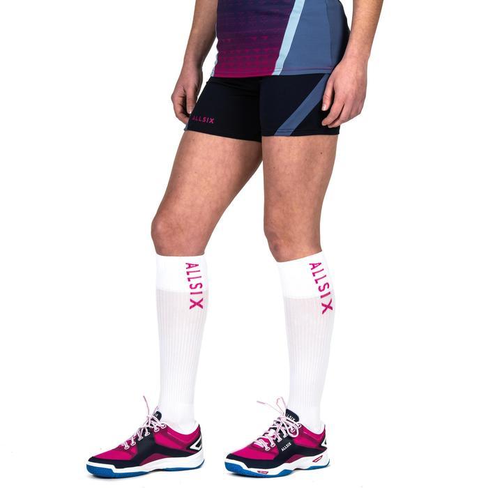 Volleybalshort V500 voor dames marineblauw