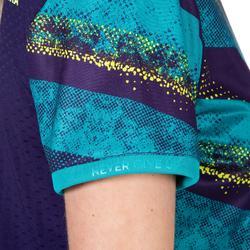 Handballtrikot H500 Damen violett/gelb