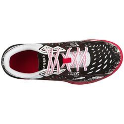 Chaussures de handball H500 femme rose
