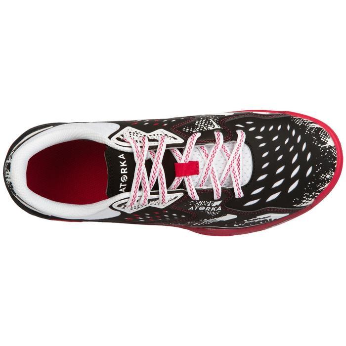 Handbalschoenen H500 roze/zwart/wit